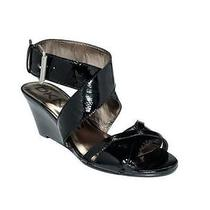 New  Dkny Dknyc Eleanor Ladies Leather Wedge Sandals Shoes Msrp 89 Nib Photo