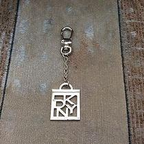 New Dkny Donna Karan Gold Tone Key Chain Purse Charm Bag Fob Ring Free Shipping Photo