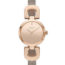 New Dkny Ny2102 Women's Rose Gold Stainless Steel Quartz Watch Photo