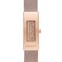 New Dkny Ny2111 Women's Rose Gold Tone Stainless Steel Quartz Watch Photo