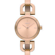 New Dkny Ny8542 Women's Rose Gold Tone Stainless Steel Bracelet Quartz Watch Photo