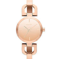 New Dkny Ny8871 Women's Rose Gold Tone Stainless Steel Bracelet Quartz Watch Photo