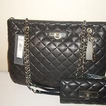 New Dkny Quilted Nappa Leather  Shoulder/crossbody Bag With Wallet Photo