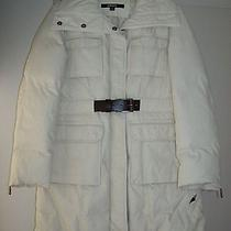 New Dkny Water-Resistant Coat Size M Photo