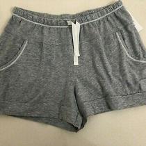 New Dnky Gray Women's Pajama Shorts Pockets Size Small Photo