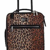 New Dolce & Gabbana Bag Luggage Trolley Cabin Suitcase Leopard Travel Womens Photo