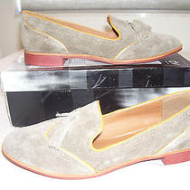 New Dolce Vita Millie Tan Suede Leather Loafer Oxford Flats Sz 9 Nwd's Photo