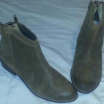 New Dolce Vita  Olive Ankle High Suede Leather  Boots Woman's Size 9 Photo