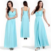 New Donna Bella Wrapped Ruched Bridesmaid Evening Prom Long Gown Dress Photo