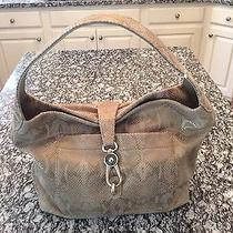 New Dooney and Bourke Logo Lock Leather Hobo Photo