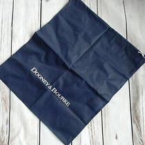 New Dooney & Bourke Blue Drawstring Dust Cover Purse Storage Bag 18