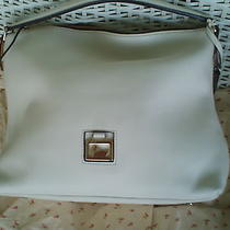 New Dooney & Bourke Large East West Sac White Photo