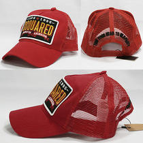 New Dsquared Unique Baseball Cap / Mesh Hat Red  Photo