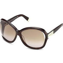 New Dsquared2 Dq0092 Oversize Havana Sunglasses Shades Made in Italy 450 Photo