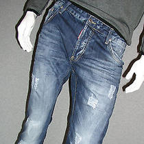 New   Dsquared2 Man's Jeans Size32 Photo