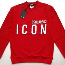 New Dsquared2 Red Sweatshirt Size Xxl Photo
