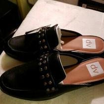 New Dv Dolce Vita Amery Black  Mules Slip on Back Less Shoes Size 8 1/2 Photo