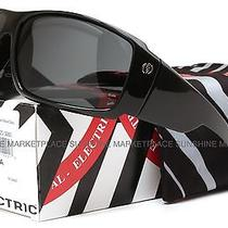 New Electric D. Payne Sunglasses-Black Gloss-Grey Lens-Same Day Shipping Photo