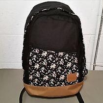 New Element Floral Trim Backpack Book Bag Photo