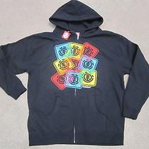 New Element Jacket Hoody Sweatshirt Black Boys L Photo