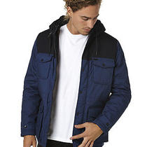 New Element Men's Hemlock 2tone Mens Jacket Mens Parka Blue Photo