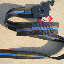 New Element Skate Web Belt Vegan Mens Osfa S M L Xl Black Blue Photo