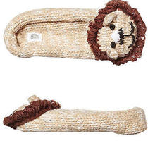 New Element Women's Tiptoes Lion Slippers Acrylic Womens Shoes Natural Photo