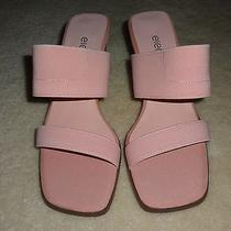 New Elements by Nina Pink Elastic Sandals Shoes Size 6m Photo