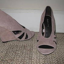 New Elizabeth & James Stash Blush Cut Out Wedge Pump 9 Photo