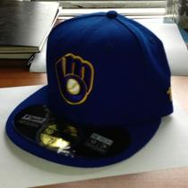 New Era 5950 - Milwaukee Brewers Alt Alternate - Mlb Baseball Cap Hat Photo