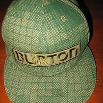New Era 59fifty Burton Snowboard Green Plaid Hat Cap Fitted Size 7 3/8 Photo