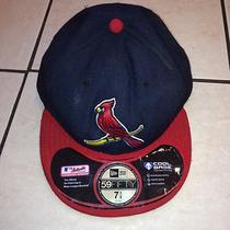 New Era 59fifty St. Louis Cardinals - on Field Alternate Cap Mlb Baseball Hat Photo