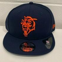 New Era 9fifty Elemental Chicago Bears Snapback Hat (Dark Navy) Men's Hat Nwt Photo