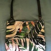 New Etsy Bag Leather  Hobo Gift Canvas Slouchy Purse Tote Photo