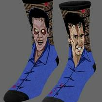 New Evil Dead 2 Socks - Ash Williams Bruce Campbell Kandarian Demon Photo