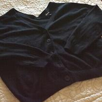 New Express Black Button Down Sweater Nwt Size Xs 49.90 Photo