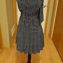 New Express Black Polka Dot Dress Sz 4  Photo