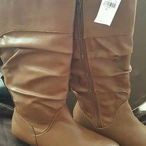 New Express Boots Cognac Size 9 Photo