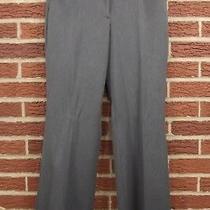 New Express Editor Womens Dress Pants Slacks 2s Short Gray Flare Leg Suit Nwt 2 Photo