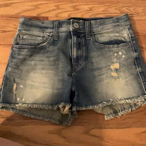 New Express Jean Shorts Size 4 Wash Denim Photo