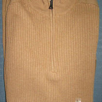 New Express Mock Neck Half Zip Sweater L Nwt 70 (Casual Ribbed Outerwear) Photo