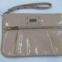 New Express Nude Zip-Front Studded Wristlet Photo