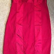 New Express Red Dress Sz 0 Photo