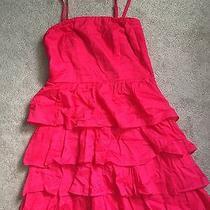 New Express Red Dress Sz 4 Photo