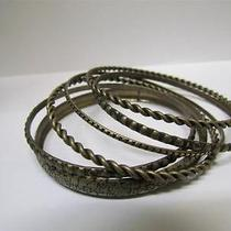 New Express Set of 6 Rusty Bracelets Photo