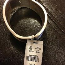 New Express Silver Wave Cuff Bracelet- Bnwt Photo