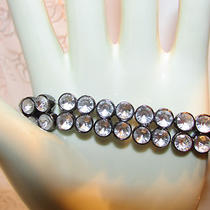 New Express Stretch Crystal Rhinestone Bracelet Nice Photo