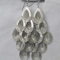 New Express Teardrop Tier Dangling Earrings Photo