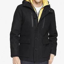 New Express Tech 268 Water Resistant Hooded System Coat Jaccket Sz M Medium Photo