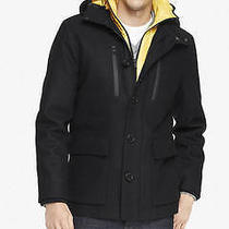 New Express Tech 268 Water Resistant Hooded System Coat Jaccket Sz Xl Photo
